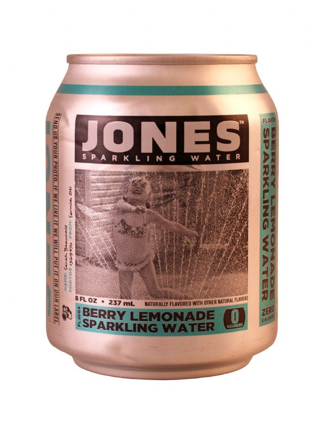Jones Sparkling Water: Jones BerryLem Front
