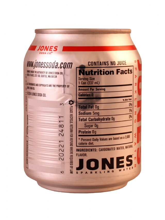 Jones Sparkling Water: Jones StrawLime Facts