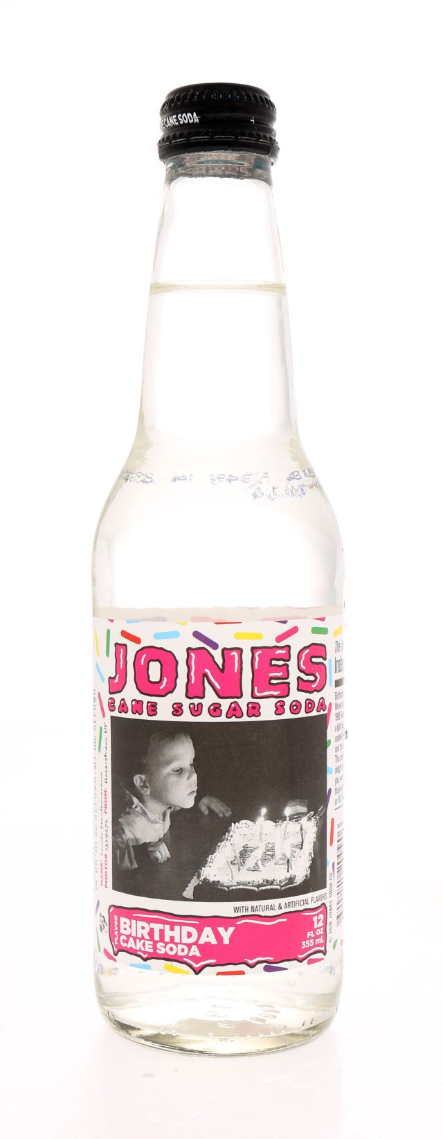Jones Pure Cane Soda: Jones Front