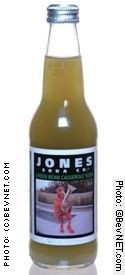 Jones Holiday Sodas: jones-green_bean.jpg