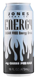 Jones Energy Sugar Free