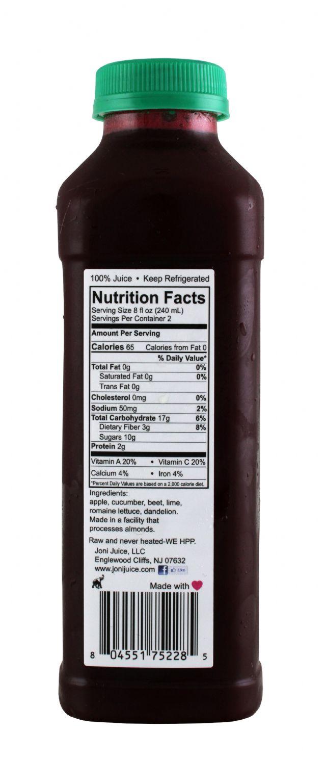 Joni Juice: JoniJuice BeetMe Facts