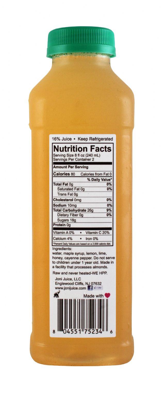 Joni Juice: JoniJuice SpiceMe Facts