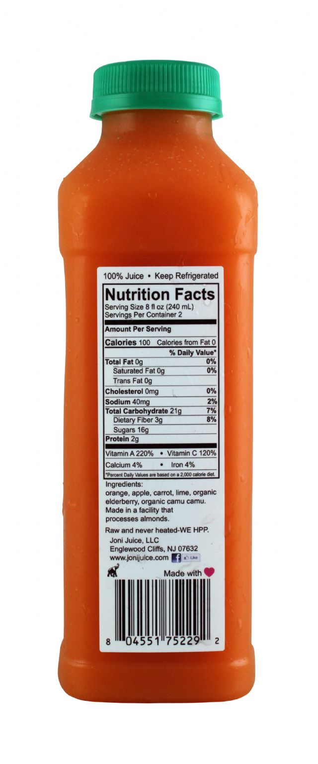 Joni Juice: JoniJuice Immune Facts