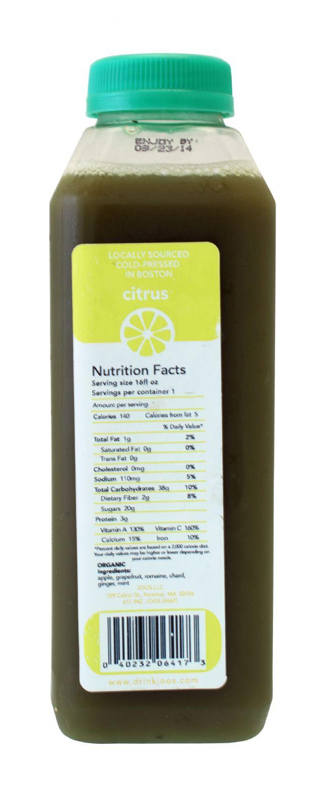 Joos: Joospress Citrus Facts