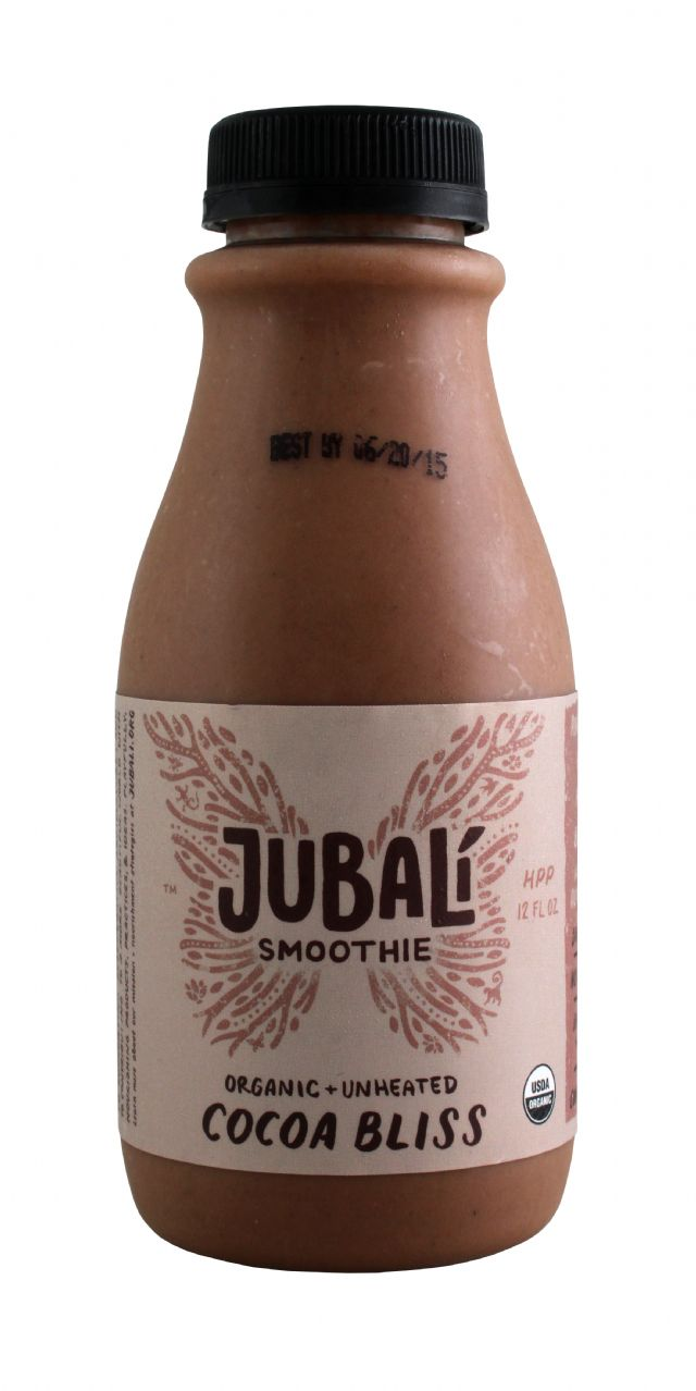 Jubali Smoothies: Jubali CocoaBliss Front