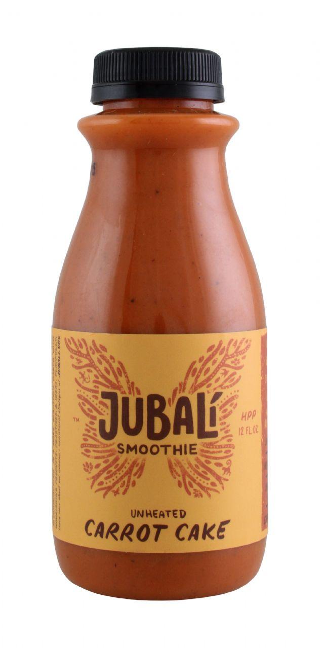 Jubali Smoothies: Jubali CarrotCake Front