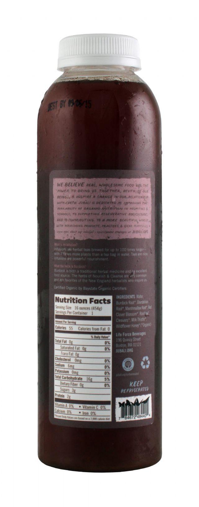Jubali Herbal Infusions: Jubali NourishCleanse Facts