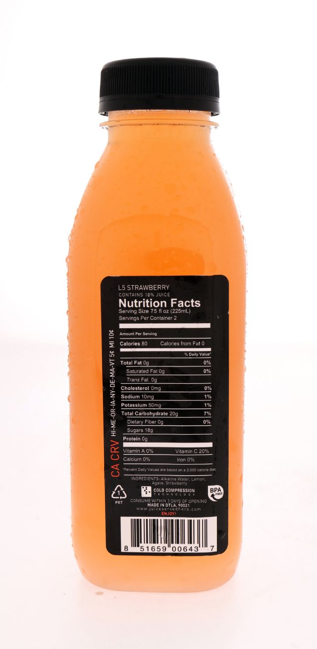 Juice Served Here Lemonade: ColdPressed StawLem Facts