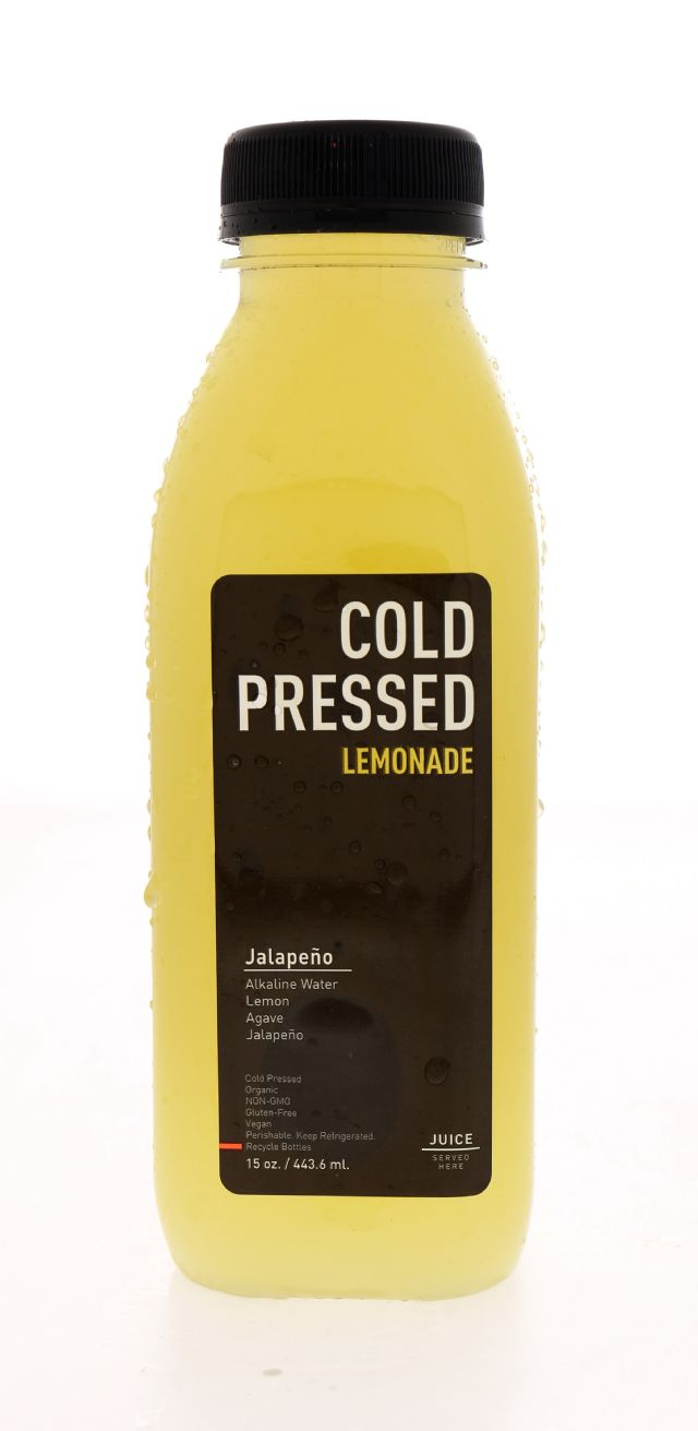 Juice Served Here Lemonade: ColdPressed Jala Front