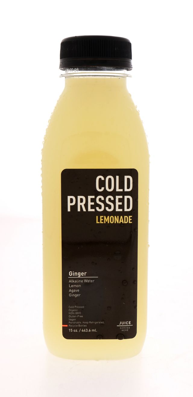 Juice Served Here Lemonade: ColdPressed Ging Front