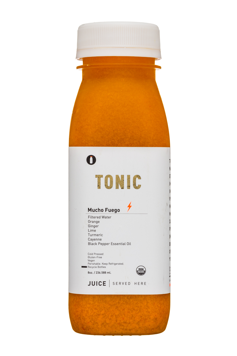 Juice Served Here Tonic: JuiceServedHere-8oz-Tonic-Front