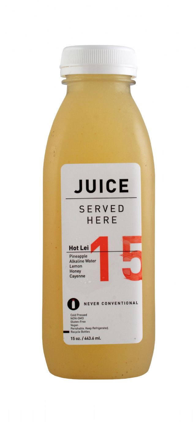 Juice Served Here: JuiceServed HotLei Front