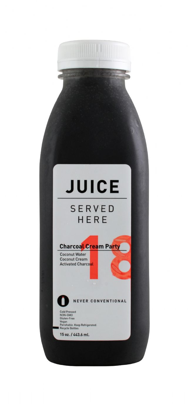 Juice Served Here: JuiceServed CharCreamParty Front