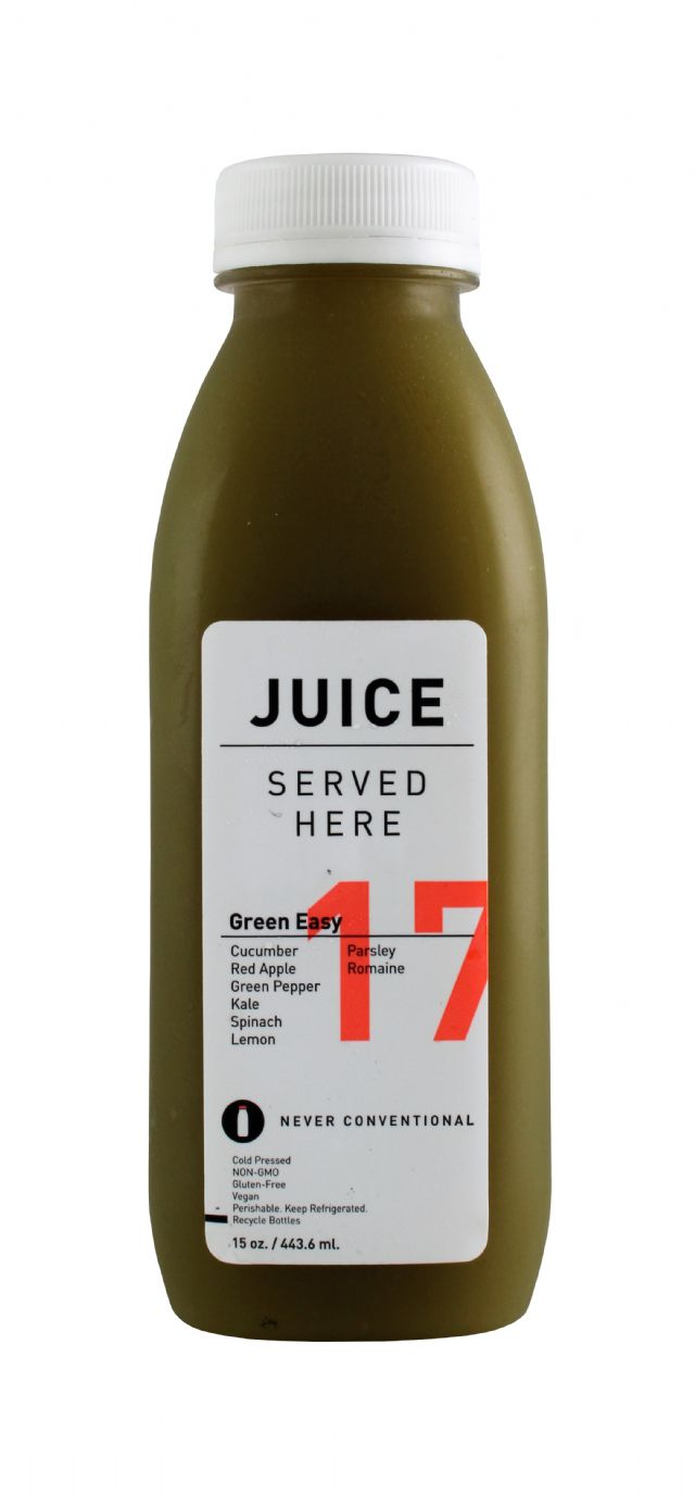 Juice Served Here: JuiceServed GreenEasy Front