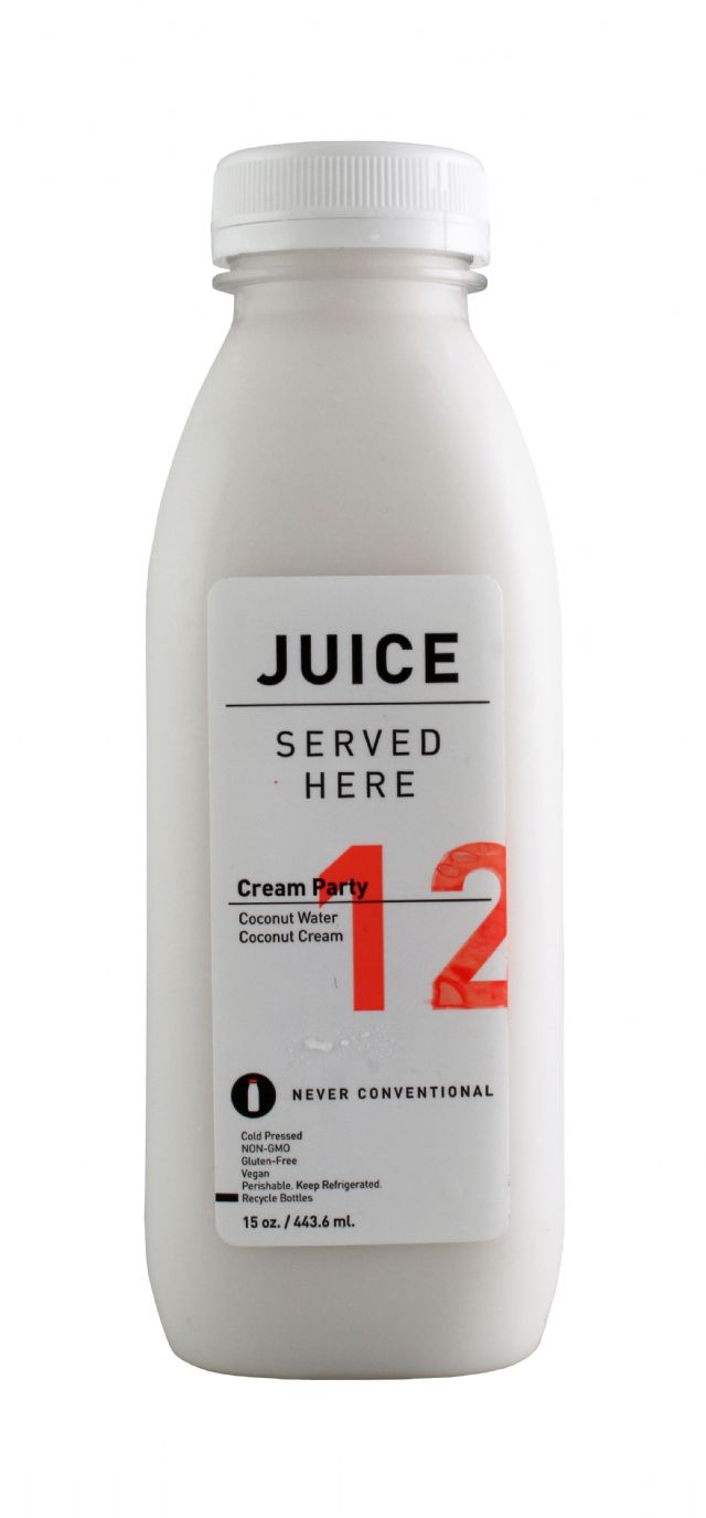 Juice Served Here: JuiceServed CreamParty Front