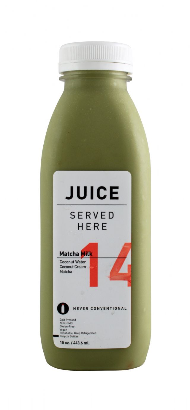 Juice Served Here: JuiceServed MatchaMilk Front