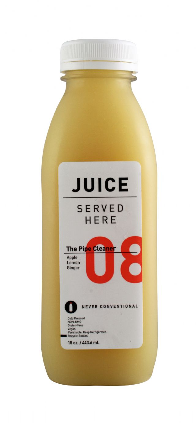 Juice Served Here: JuiceServed PipeClean Front