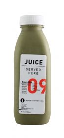Juice Served Here: JuiceServed GreenMilk Front