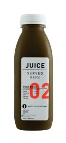 JuiceServed SweetGreens Front