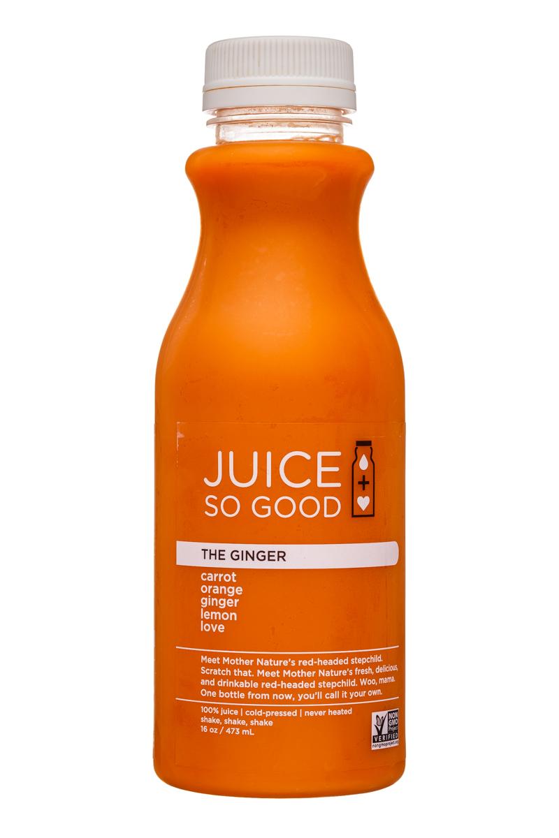 So Good So You: JuiceSoGood-16oz-TheGinger-Front