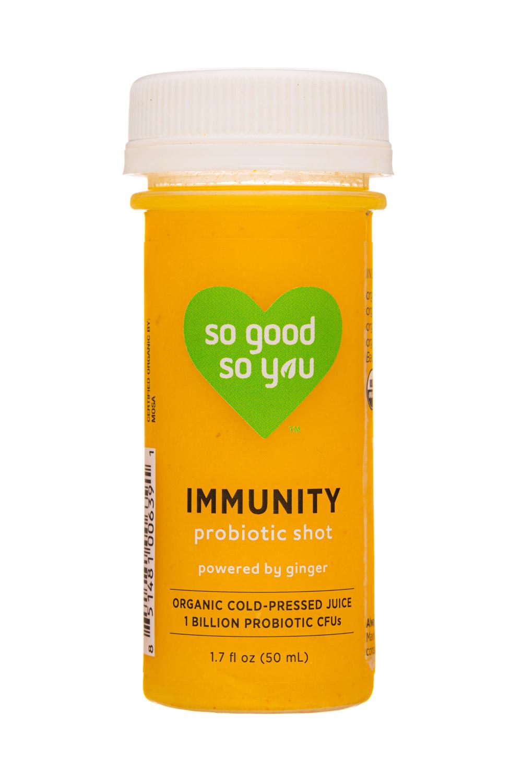 So Good So You: JuiceSoGood-2oz-2020-ProbioticShot-Immunity-Front
