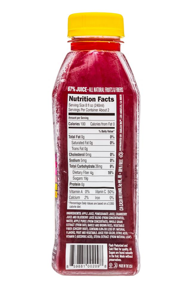 Juiceology: Juiceology-15oz-PomberryBliss-Facts