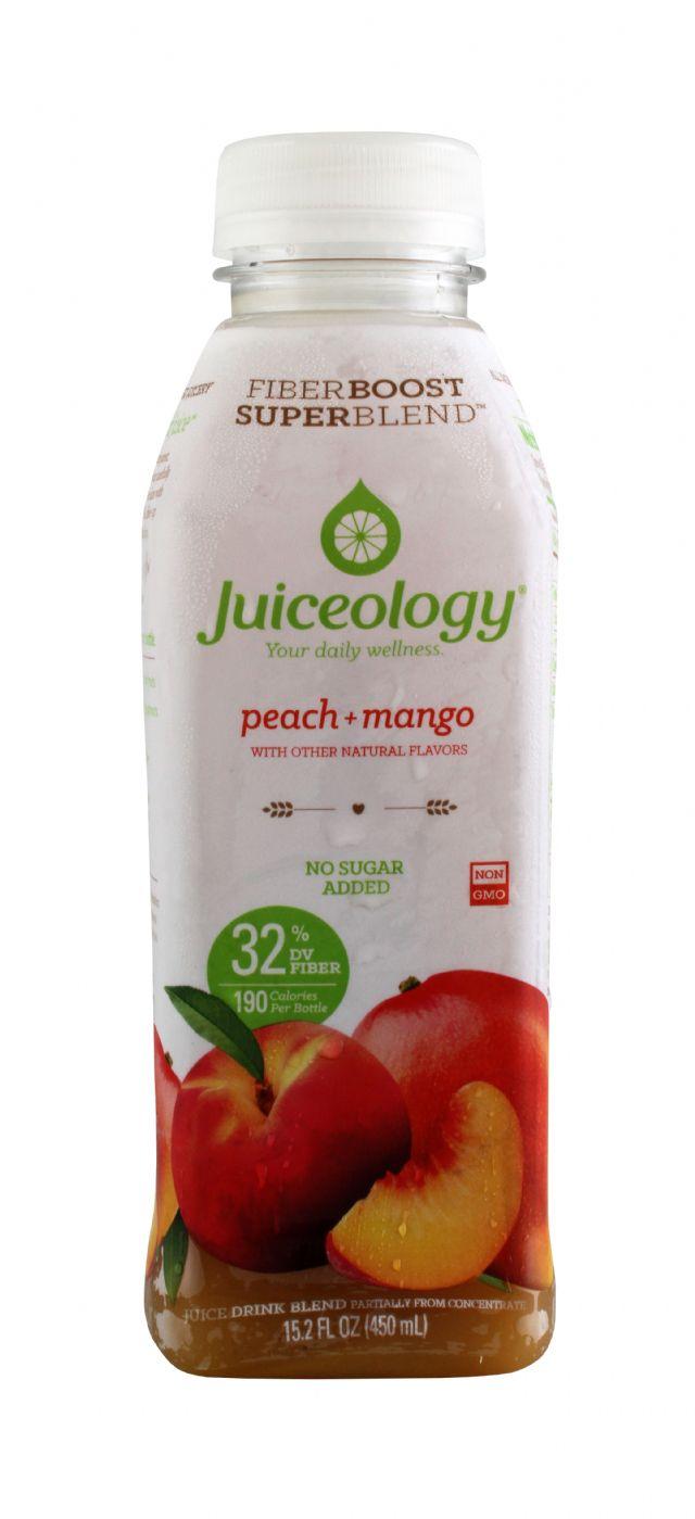 Juiceology: Juiceology PeachMango Front