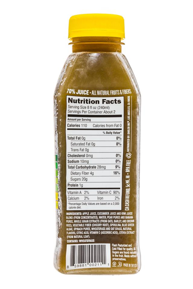 Juiceology: Juiceology-15oz-GreenElements-Facts