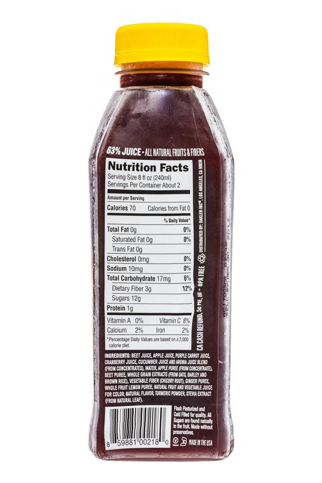Juiceology: Juiceology-15oz-MightyRed-Facts