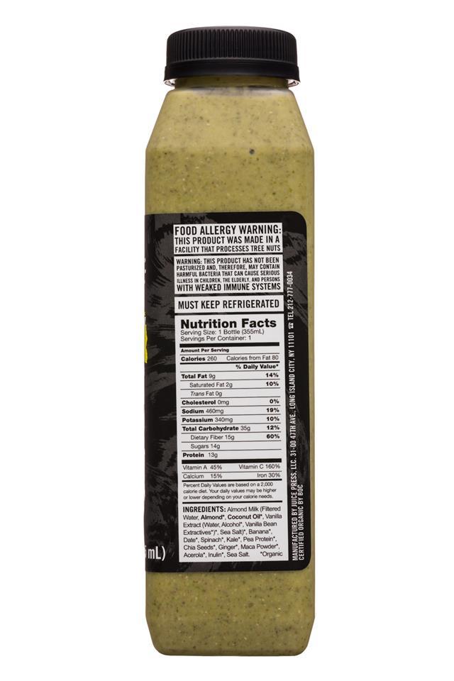 Juice Press: JuicePress-12oz-Adidas-Smoothie-Energy-Facts