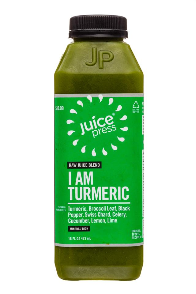 Juice Press: JuicePress-16oz-IAmTurmeric-Front