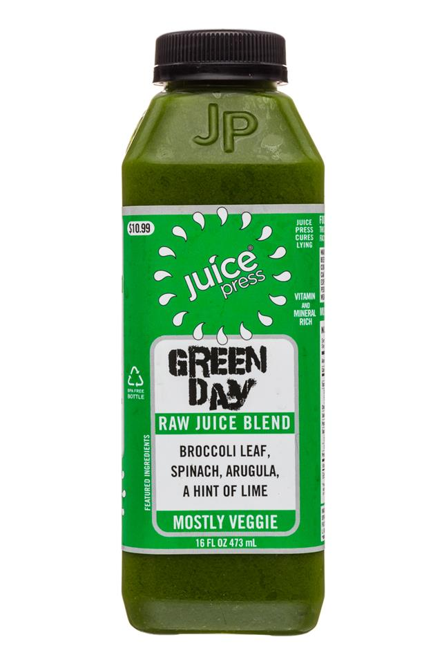 Juice Press: JuicePress-16oz-GreenDay-Front