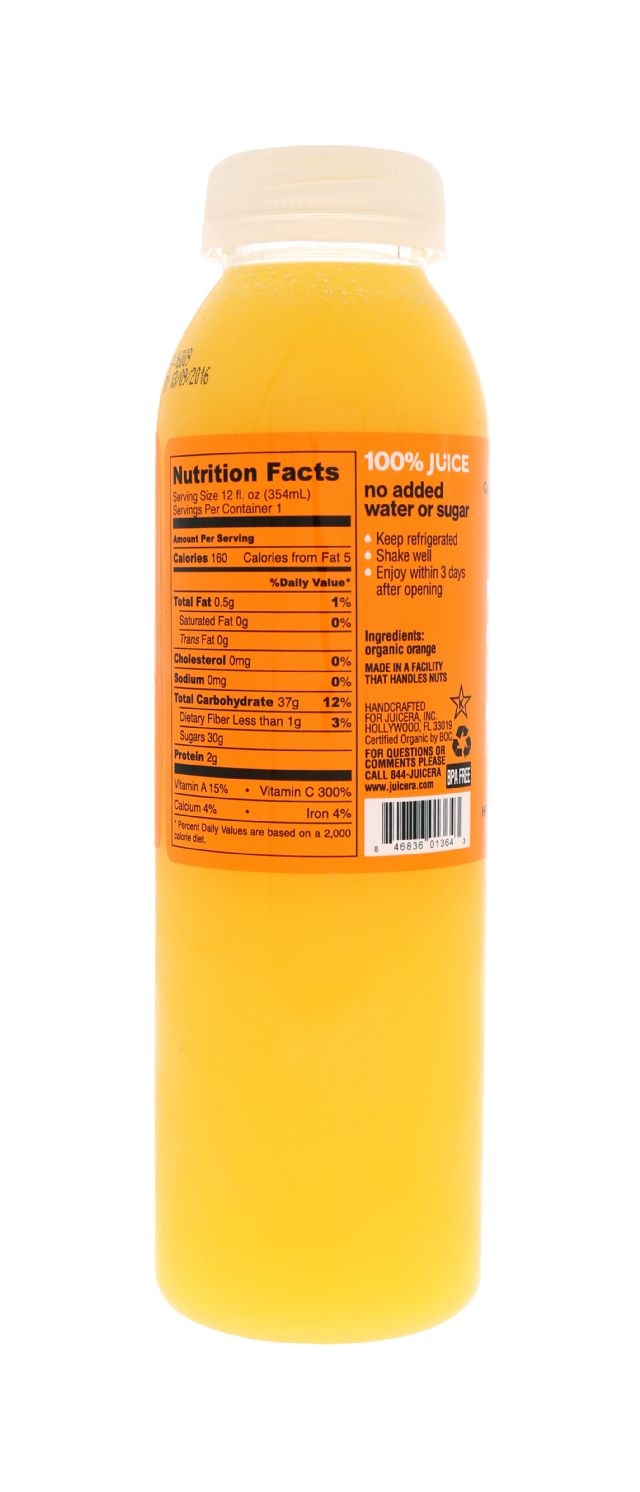 Juicera: Juicera Orange Facts