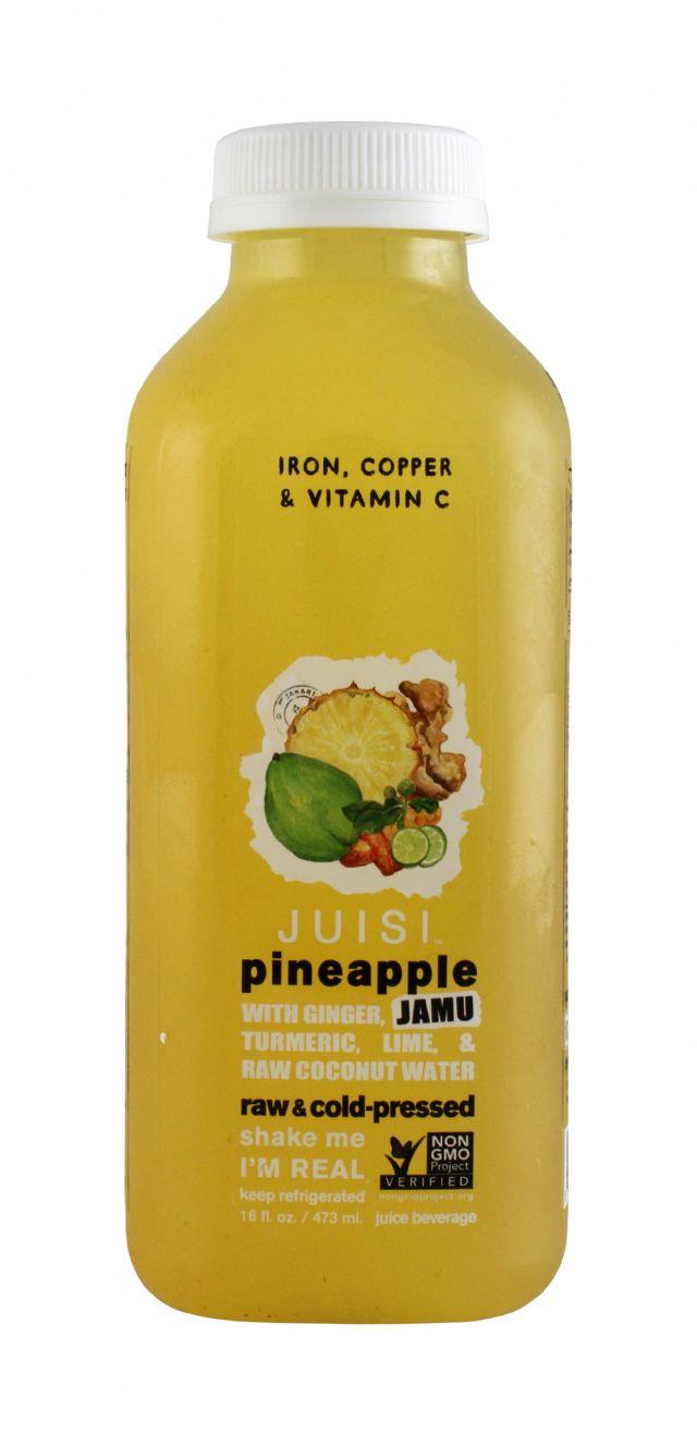 Juisi: Juisi Pineapple Front