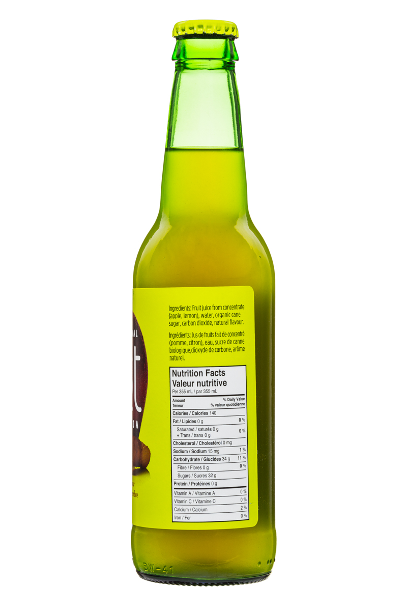 JUST Craft Soda: Just-CraftSoda-355ml-AppleGinger-Facts