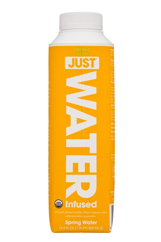 Just Water: JustWater-17oz-Lemon-Front