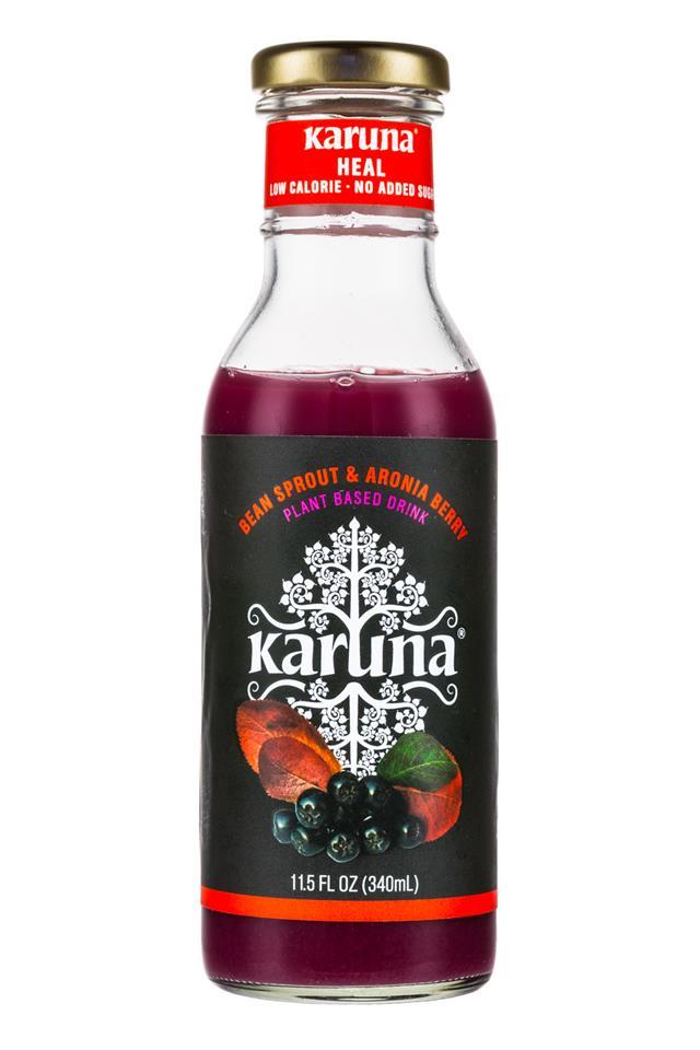 Karuna: Karuna-12oz-BeanSprout-AroniaBerry-Front