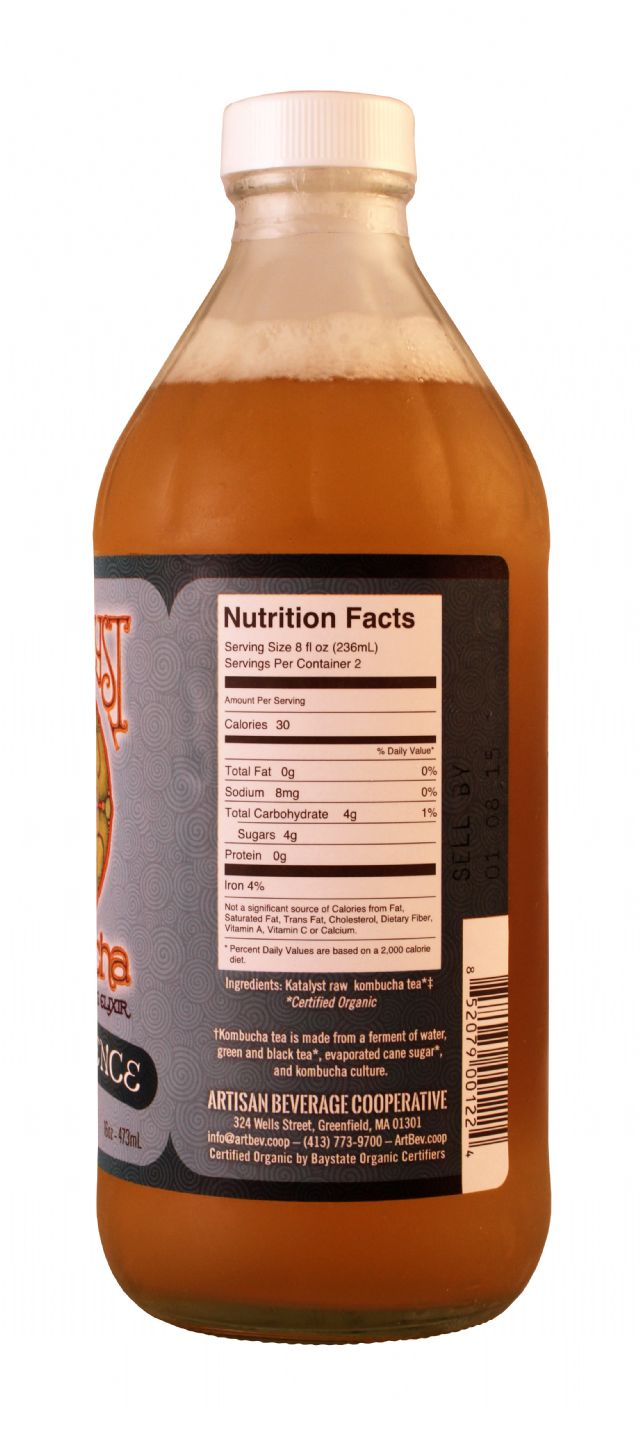 Katalyst Kombucha: Katalyst PureEssence Facts