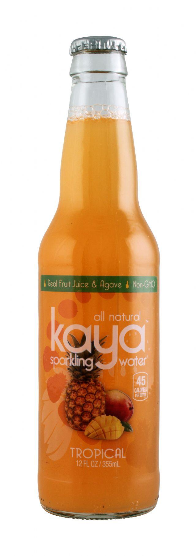 Kaya Sparkling Water: Kaya Tropical Front