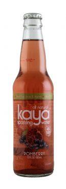 Kaya Sparkling Water: Kaya Pom Front