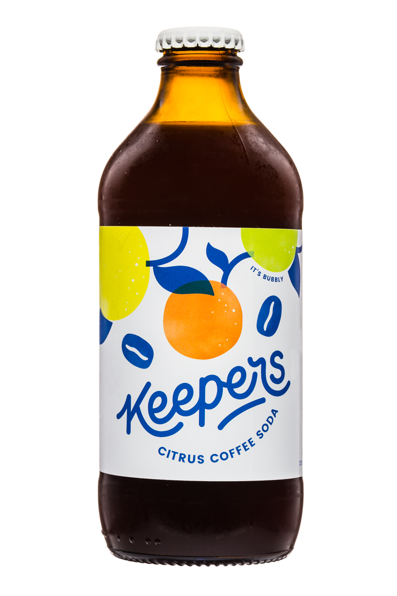 Keepers : Keepers-CitrusCoffeeSoda-Front
