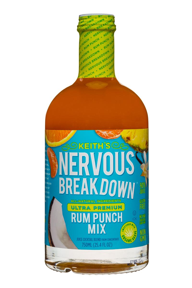 Keith's : Keiths-NervousBreakdown-750ml-Mix-RumPunch-Front