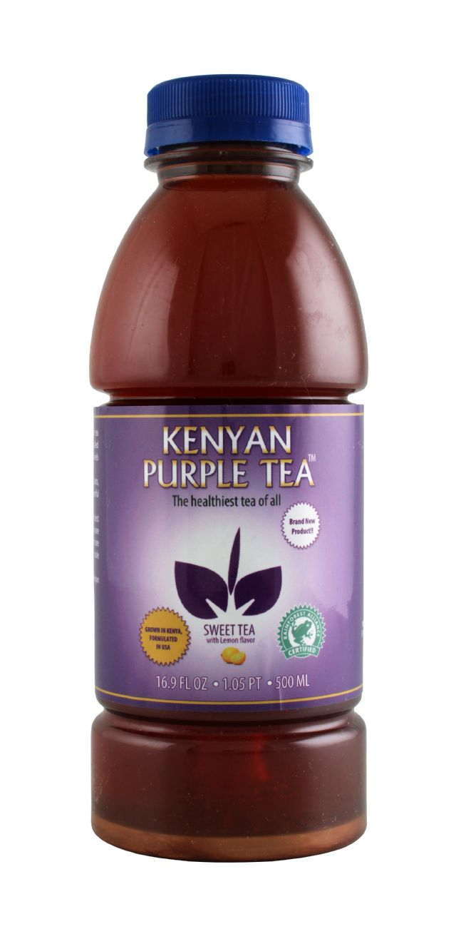 Kenyan Purple Tea: KenyanTea Lemon Front