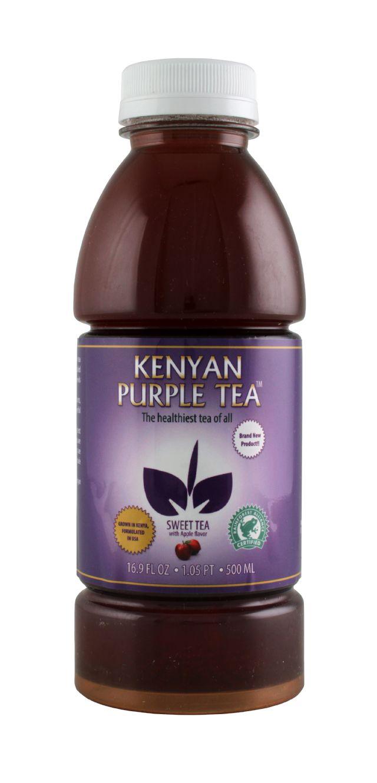 Kenyan Purple Tea: KenyanTea Apple Front