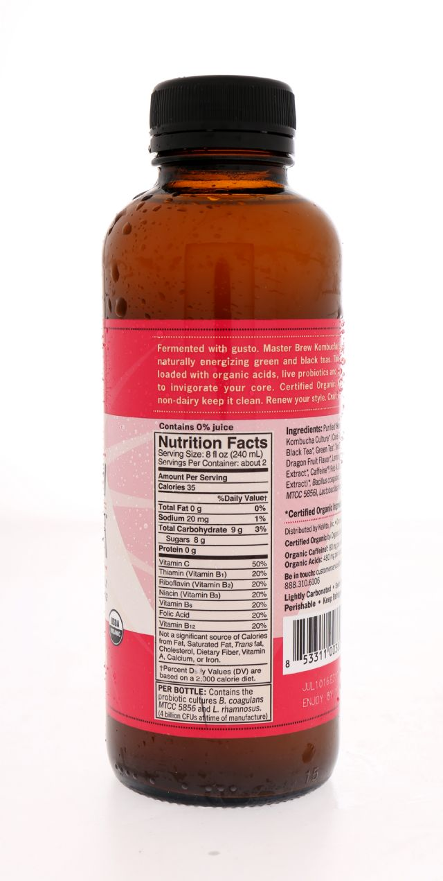 KeVita Master Brew Kombucha: KeVita Dragon Facts