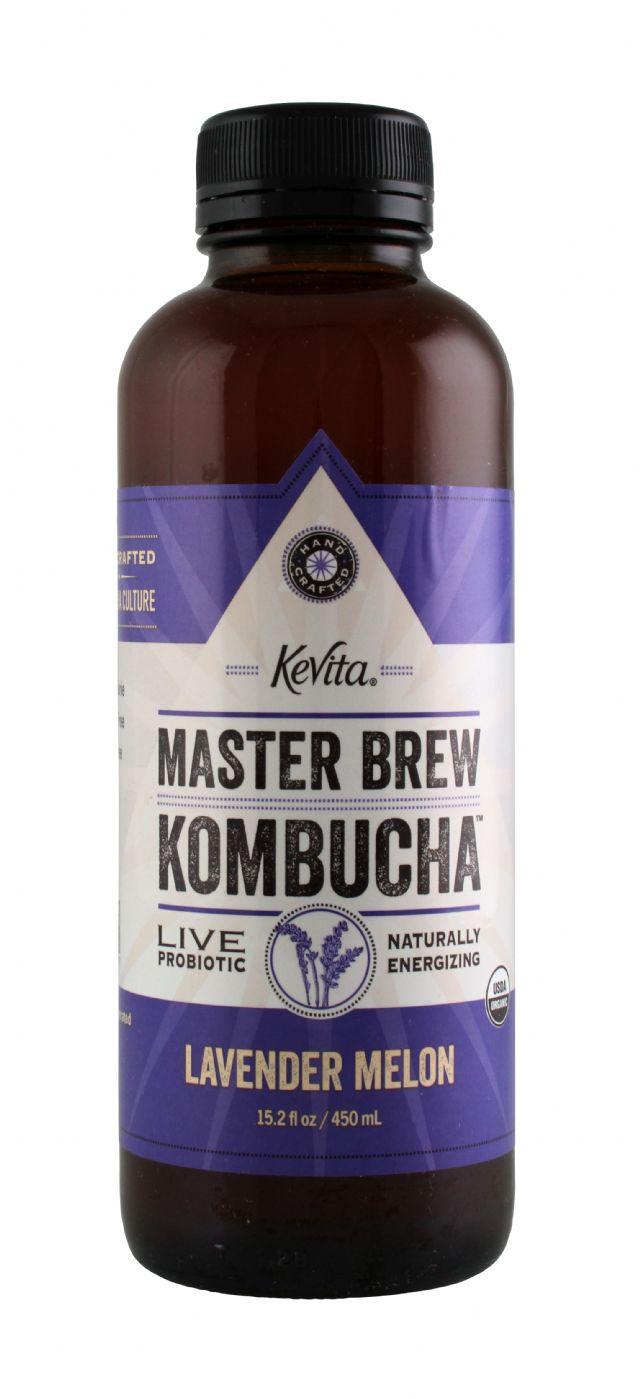 KeVita Master Brew Kombucha: Kevita LavenderMelon Front