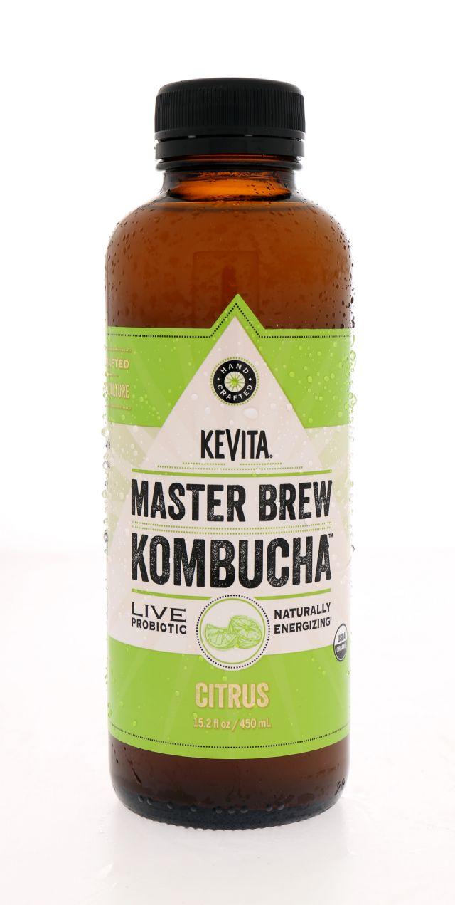 KeVita Master Brew Kombucha: KeVita Citrus Front