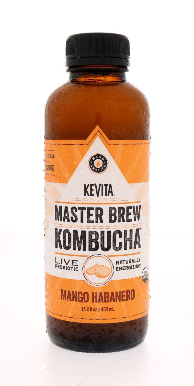KeVita Master Brew Kombucha: KeVita MangHab Front