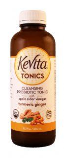 KeVita Tonics: KevitaTonics TumericGinger Front